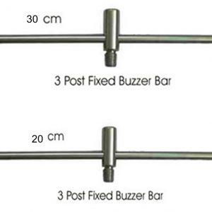 leisurelite Single Solid Stainless Steel 30cm 2 rod buzz bar